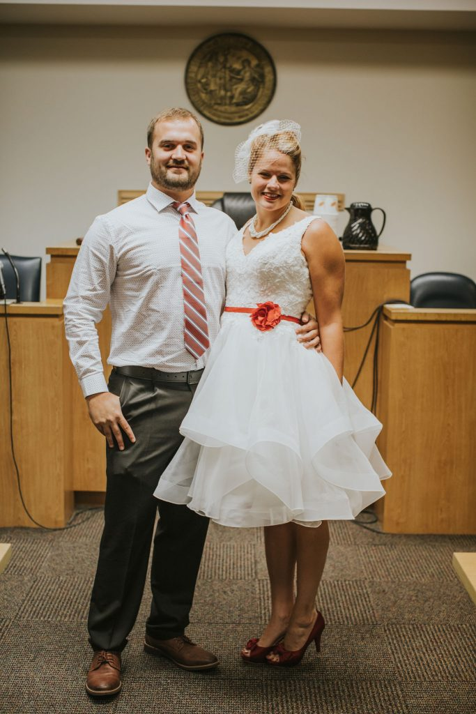 Johanna and Charley's Wedding - Wilmington Courthouse